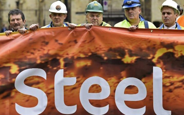 steel industry faces death sentence